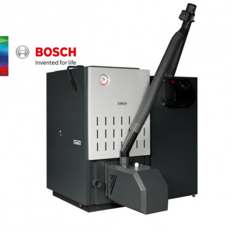 КОТЕЛ НА ПЕЛЕТИ В КОМПЛЕКТ С ГОРЕЛКА Bosch Pellet System Ligth 27 и 32kW