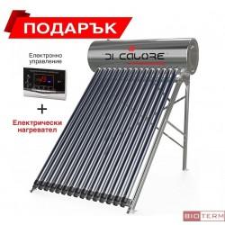 Слънчев колектор с бойлер 150 литра DI CALORE - ОТВОРЕН ТИП