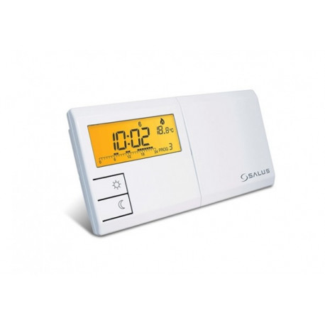 SALUS 091FL - Програмируем регулатор на температура – седмичен