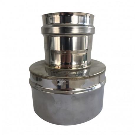 Увеличител-Намалител за димоотвод, Инокс AISI 304