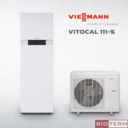 Viessmann Vitocal 111-S за отопление и охлаждане с вграден бойлер 200 л.