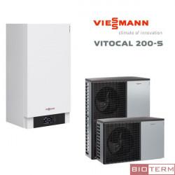 Viessmann Vitocal 200-S за отопление и охлаждане
