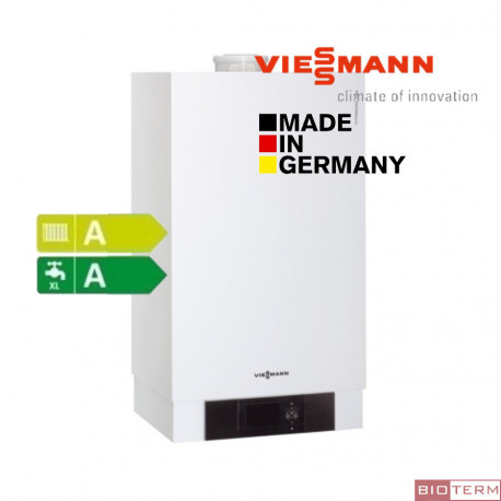 Стенен кондензен газов котел Viessmann Vitodens 200-W от 2,6 до 35 kW двуконтурен