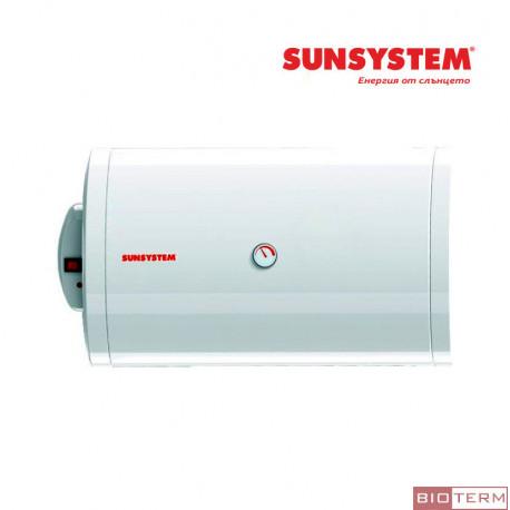Бойлер, електрически, емайлиран, хоризонтален Sunsystem BBH EL Ø 520