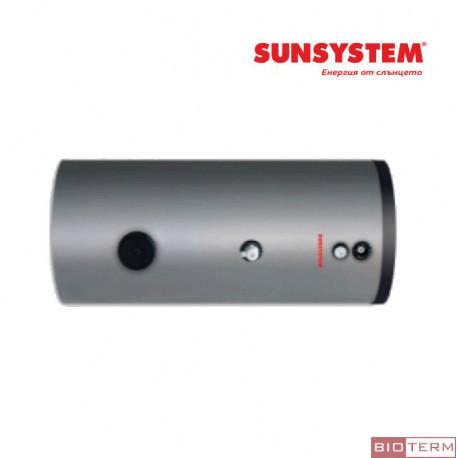 Бойлер, слънчев, емайлиран, хоризонтален, без серпентина Sunsystem SEL H