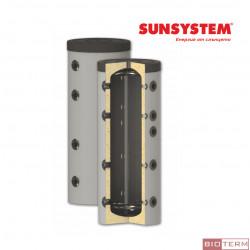 Буферен съд PS – без серпентини, с изолация, Sunsystem