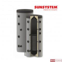 Буферен съд PS1, с една серпентина, с изолация, Sunsystem