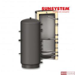 Буферен съд PR – с една серпентина, с изолация, Sunsystem