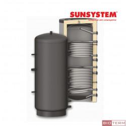 Буферен съд PR2 – с две серпентини, с изолация, Sunsystem