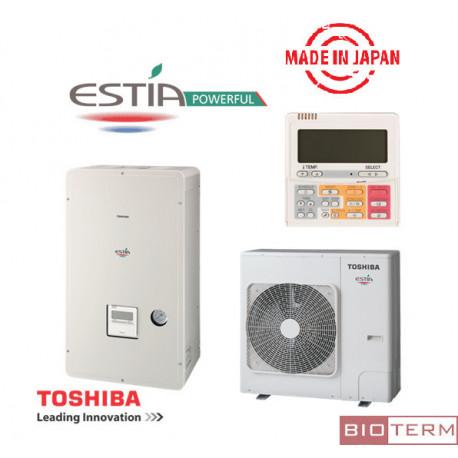 Инверторна термопомпа Toshiba Estia Powerfull
