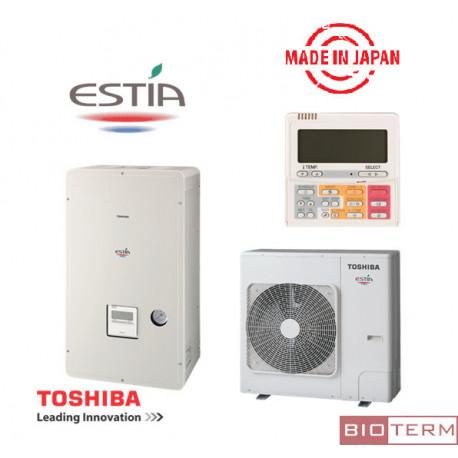 Инверторна термопомпа Toshiba Estia от 14,73 до 16,76 kW трифазна