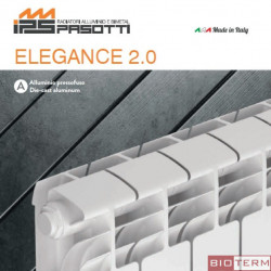 IPS, алуминиев радиатор ELEGANCE 2.0 350
