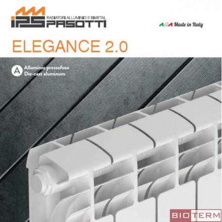 IPS, алуминиев радиатор ELEGANCE 2.0 500