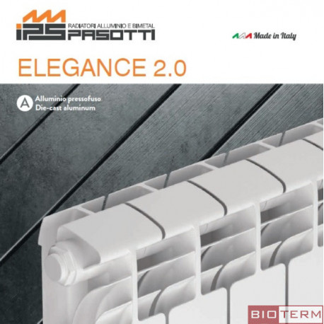 IPS, алуминиев радиатор ELEGANCE 2.0 800